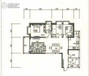 东旭骏城3室2厅2卫128--129平方米户型图