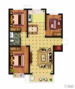 骏景豪庭3室2厅1卫115平方米户型图