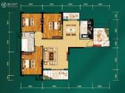 中建宜城春晓3室2厅1卫0平方米户型图