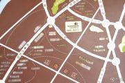 江南中央花园交通图