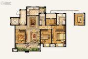 湾上风华4室2厅2卫137平方米户型图