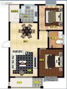 德怡枫林湾2室1厅1卫0平方米户型图
