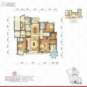丽汤・首山梦之湾4室2厅4卫258平方米户型图