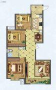 隆光・西萃芳庭3室2厅1卫0平方米户型图