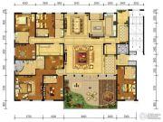 中弘府邸6室2厅6卫463平方米户型图