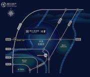 首创・禧瑞墅|河著交通图