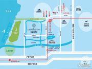 绿地朱家角1号交通图