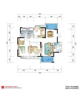 花样年别样城0室0厅0卫129平方米户型图