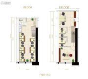 名城广场1室1厅1卫0平方米户型图