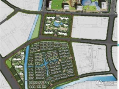 绿地中央广场规划图