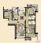 枫林天下3室2厅2卫0平方米户型图