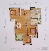 黔龙1号3室2厅2卫112平方米户型图