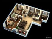 荣昌绿园2室2厅1卫0平方米户型图