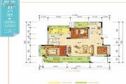 羌多娜2室2厅1卫102平方米户型图