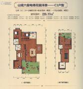 上海紫园6室3厅3卫226平方米户型图