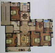 大自然・滨江花园5室2厅2卫142平方米户型图