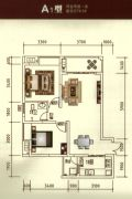 瑞鼎嘉城2室2厅1卫79--80平方米户型图