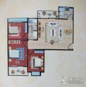 阳光国际城3室2厅1卫119平方米户型图