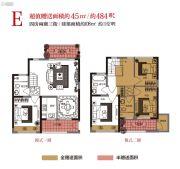 K2・荔枝湾4室2厅3卫108平方米户型图