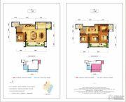 北大资源・翡翠公园4室2厅3卫164平方米户型图