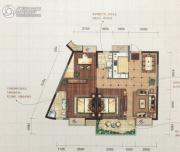 华仪富丽华城・悦玺3室2厅2卫113平方米户型图