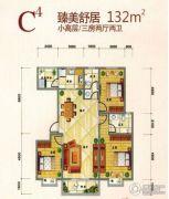 学府花园3室2厅2卫0平方米户型图