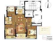 翡翠城梧桐郡3室2厅1卫0平方米户型图
