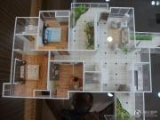 国电金海域3室2厅2卫138--140平方米户型图