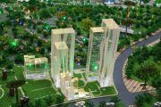 世博生态城・低碳中心沙盘图