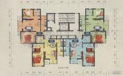 渤海天易园2室1厅1卫60--90平方米户型图
