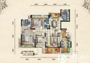 五矿龙湾别墅3室2厅2卫142平方米户型图