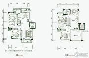 保利林语5室3厅3卫200平方米户型图