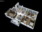 碧桂园云麓半山6室2厅3卫200--207平方米户型图