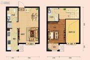 房信彩虹城1室2厅1卫0平方米户型图
