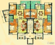 尚景康园122--127平方米户型图