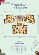 阳光城丽景湾74--83平方米户型图