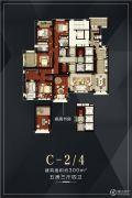 金地天境5室3厅4卫0平方米户型图