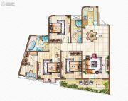 金都・海尚国际4室2厅2卫0平方米户型图