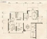 东盟华府3室2厅2卫140平方米户型图