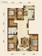 森晟江湾馨城5室2厅2卫0平方米户型图