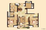 经纬学士逸居家园3室2厅1卫0平方米户型图
