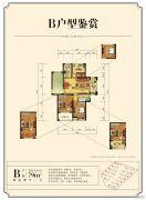金厦银湖城2室2厅1卫79平方米户型图