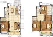 恒大悦珑湾4室2厅3卫273平方米户型图