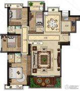 悦泰春天4室2厅2卫140平方米户型图