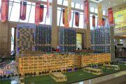 温州港龙商业广场沙盘图