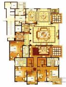 华府樟园5室3厅3卫0平方米户型图