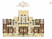璞�_公馆4室2厅2卫0平方米户型图