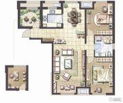 哈尔滨星光耀广场2室1厅1卫0平方米户型图