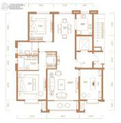 君临天下3室2厅2卫0平方米户型图