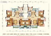 水润东都3室2厅2卫125--129平方米户型图